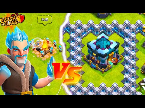 MAX ICE WIZARDS Vs. TOWN HALL 13 (Clash Of Clans)