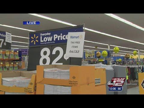Ready, set, shop! Texas Tax-free weekend starts Friday