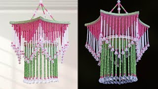 DIY Amazing Pearl Chandelier || Handmade Home Decoration Idea || DIY Pearl Wall hanging