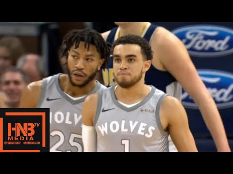 Denver Nuggets vs Minnesota Timberwolves 1st Half Highlights / April 11 / 2017-18 NBA Season