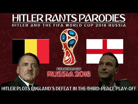 Hitler plots England's defeat in the third-place play off