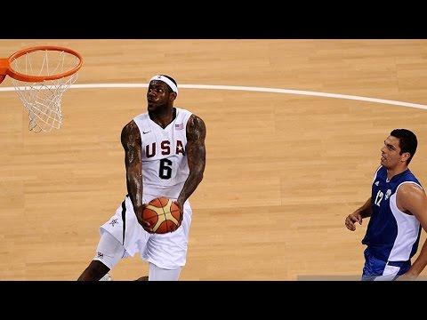 Greece vs USA 2008 Beijing Olympics Men's Basketball Group Match FULL GAME HD 720p English