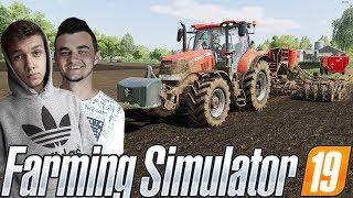 Farming Simulator 19☆Siewy Rzepaku na Nowym Polu & Mieszanie TMR !☆ ✔ Sąsiedzkie Zmagania #26