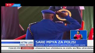 Wakenya watoa hisia zao kuhusu sare mpya za polisi