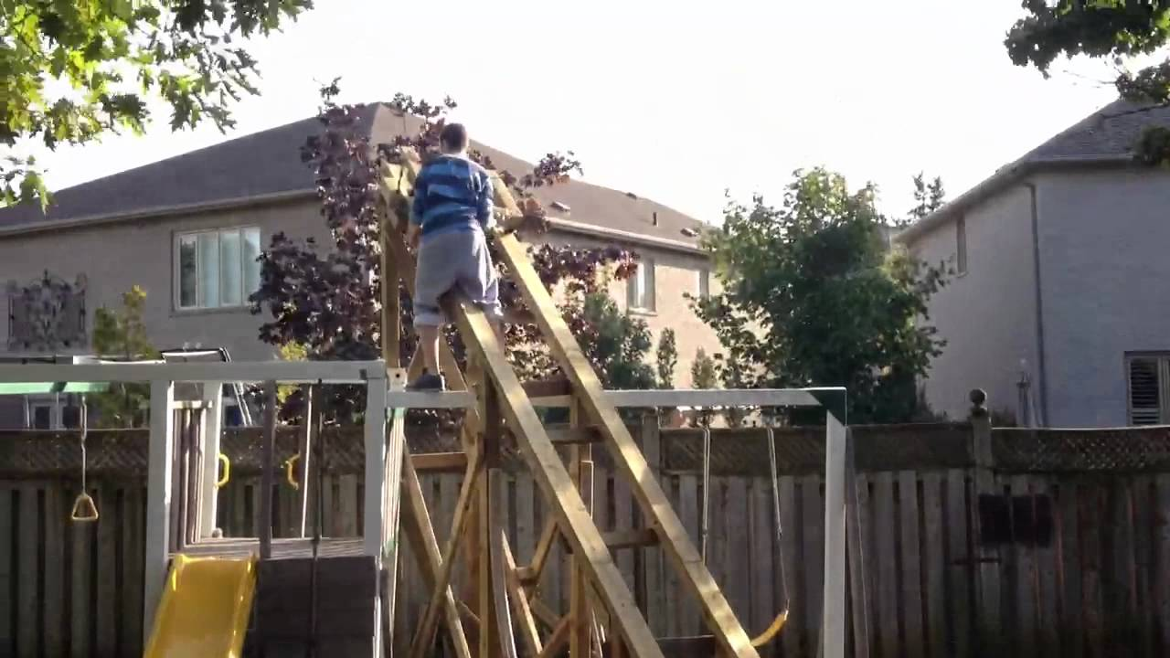 minotaur test 1 5 backyard roller coaster youtube