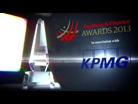 Business & Finance Awards 2013: Opening Video