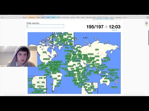 SPORCLE WORLD RECORD - Typing Every Country in Under 3 Minutes
