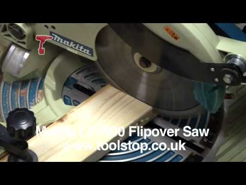 A Table Saw that Flips Over to Become a Miter Saw