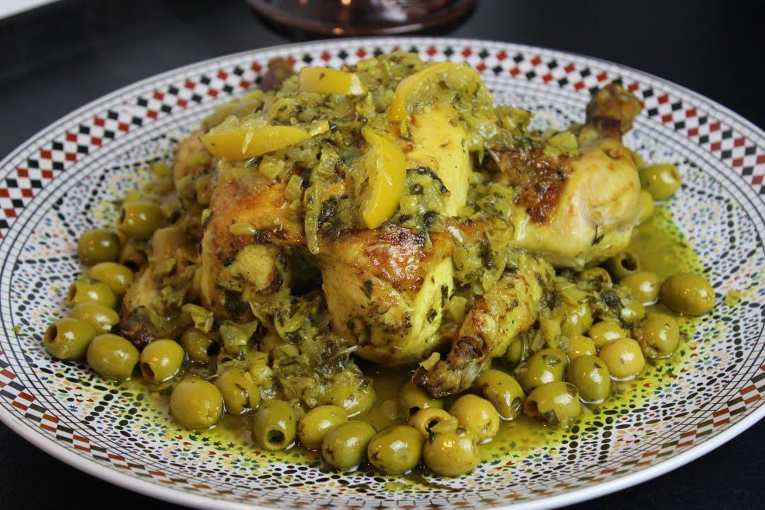 djaj mhamer - hähnchen auf marokkanischer art - youtube - Marokkanische Küche Rezepte