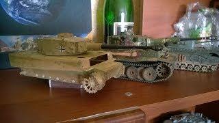 Ta'mirlash model, yo'lbars tank (mening birinchi model)!!!!
