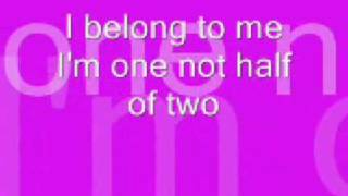 I belong to me by jessica simpson (LYRICS)