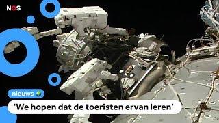 Astronauten maken ruimtestation klaar voor toeristen