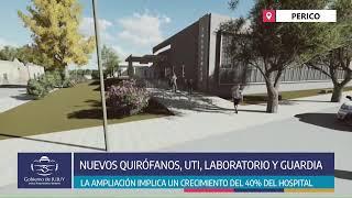 EN VIVO - Inicio de obras en el Hospital Arturo Zabala de Perico