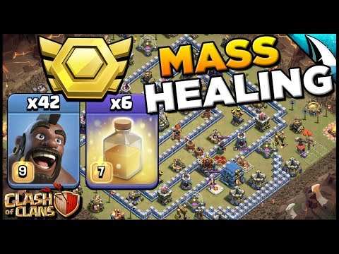 Sui Mass Hogs With 6 Heal Spells!! CWL & Legend League | Clash Of Clans
