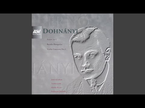 Dohnányi: Violin Concerto No.2 in C minor, Op.43  1. Allegro molto moderato
