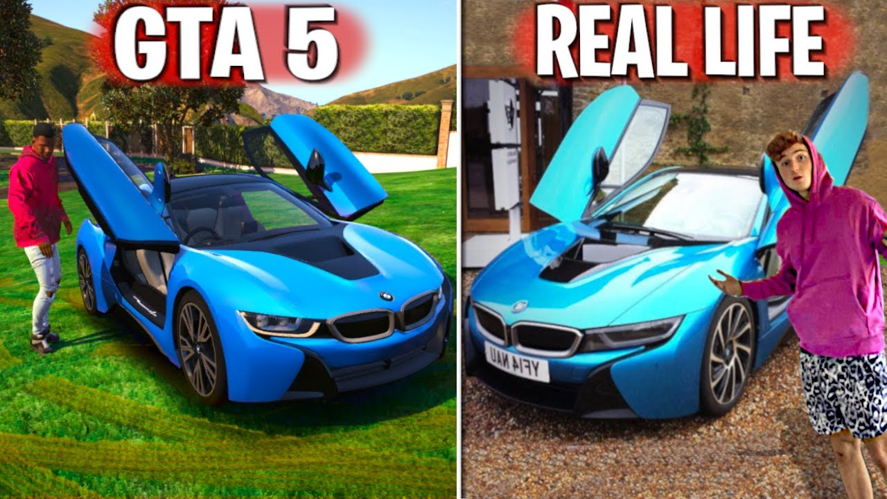 I Found My Real Life SuperCar In GTA 5.. (GTA 5 Mods) thumbnail