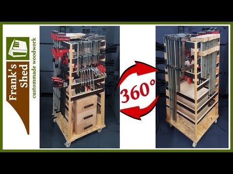 schraubzwingen aufbewahren regal f r schraubzwingen selber bauen ohne french cleat. Black Bedroom Furniture Sets. Home Design Ideas