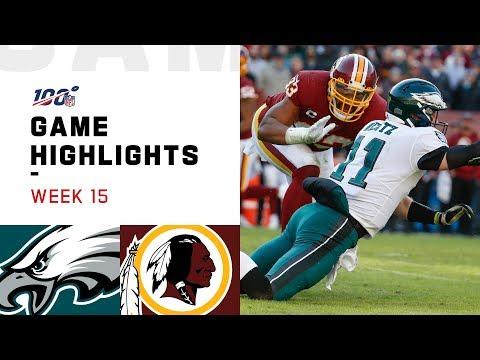 Eagles Vs. Redskins Week 15 Highlights | NFL 2019