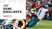 Eagles vs. Redskins Week 15 Highlights   NFL 2019