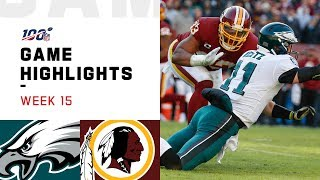 Eagles vs. Redskins Week 15 Highlights | NFL 2019