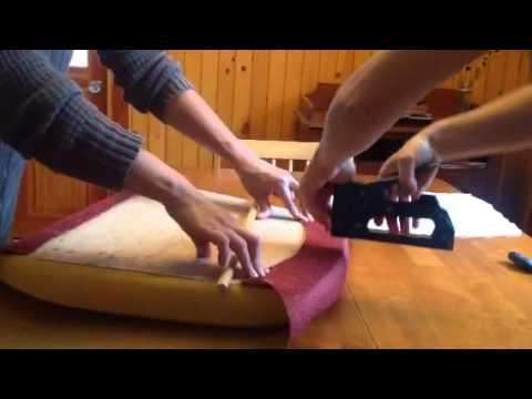 1 2 Recouvrir Une Chaise Trucs Et Astuces Youtube