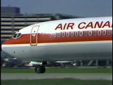 Jetliners - Air Canada Boeing 727 and DC-9 at Toronto