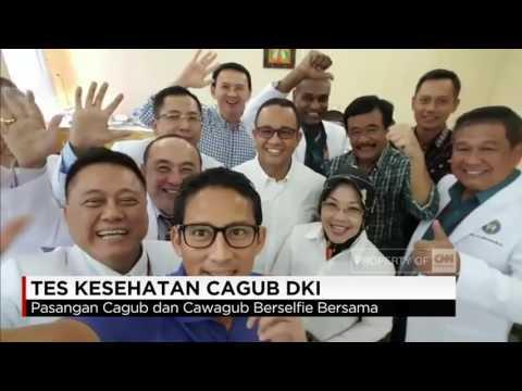 Serunya Video Selfie Pasangan Cagub & Cawagub DKI Jakarta