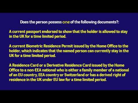 How to perform right to rent checks for landlords 2015 (UK)