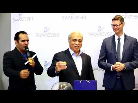 Swarovski boutique opening ARG mall Tehran