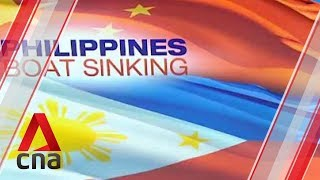 China to investigate sinking of Filipino fishing boat in South China Sea