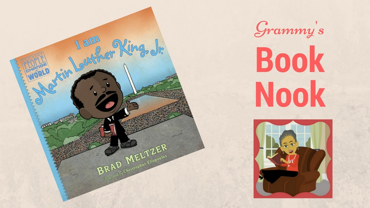 I Am Martin Luther King Jr Children S Books Read Aloud Youtube