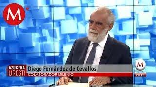 AMLO ahora va contra el Poder Judicial, Diego Fernández de Cevallos