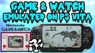 Game & Watch Octopus Ported Onto PS Vita!