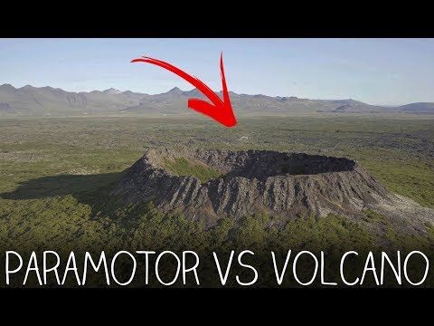 Soaring Above A VOLCANIC CRATER - Iceland Pt. 8