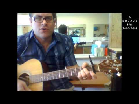 "How to play ""Runaway"" by Del Shannon on acoustic guitar"