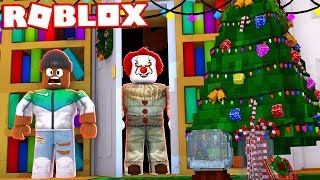 """IT"" THE CLOWN RETURNS FOR CHRISTMAS IN ROBLOX"
