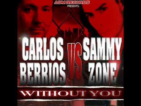 Carlos Berrios vs Sammy Zone - Without You (Dj XM Electro Rremix)