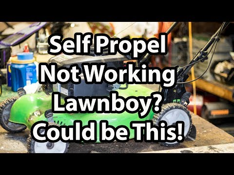 Self Propelled Not Working on Lawn boy? Easy Belt Replacement
