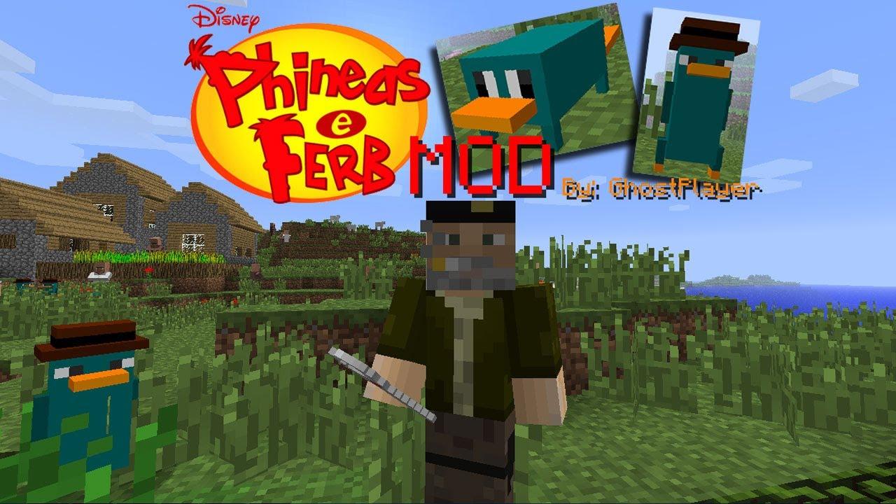Matando A Phineas Y Ferb Perry El Ornitorrinco Mod