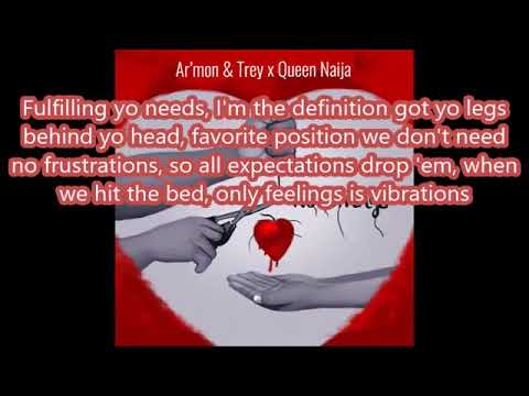 Armon & Trey Ft. Queen Naija No Strings (Lyrics)