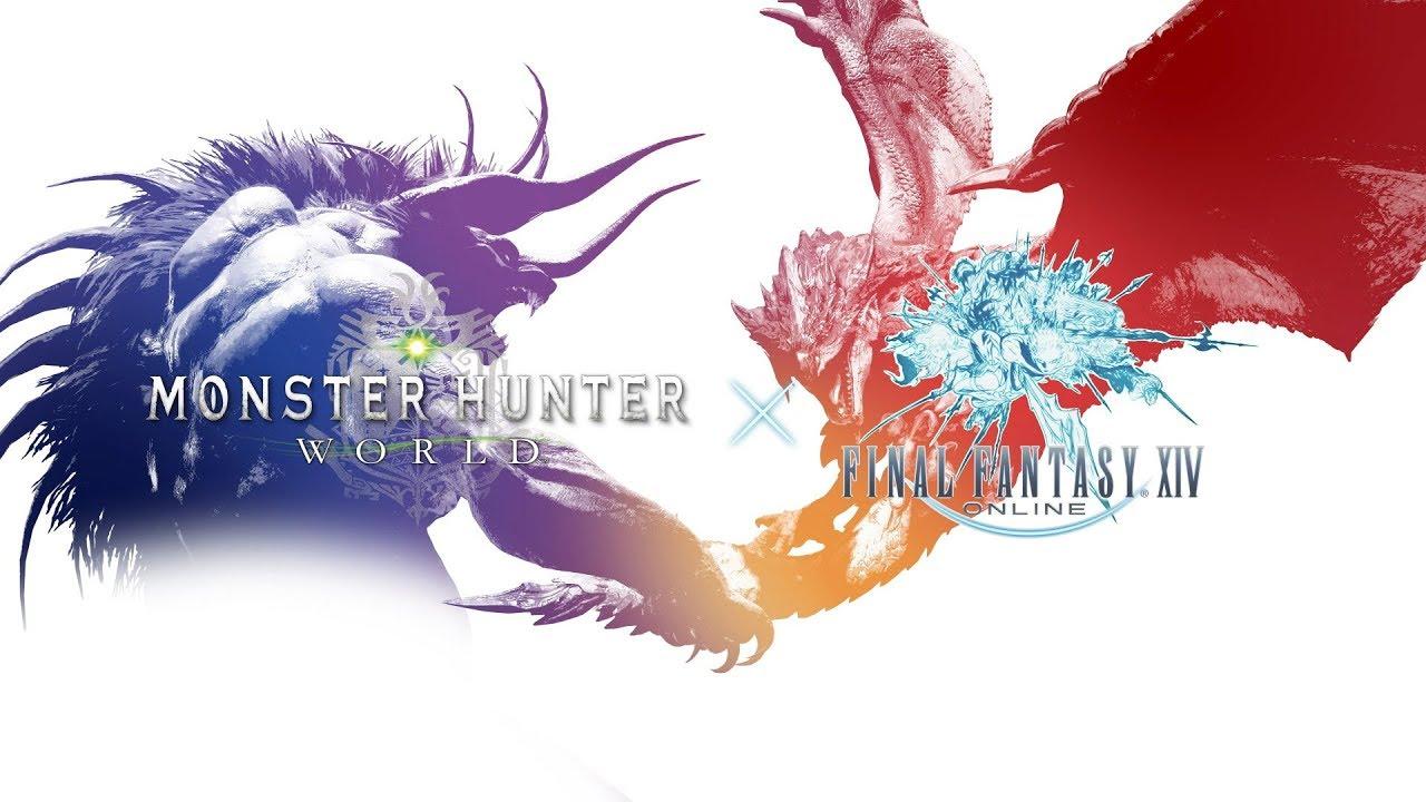 Final Fantasy's Behemoth comes to Monster Hunter World on PC
