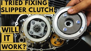 HOW TO INSTALL SLIPPER CLUTCH ON REGULAR CLUTCH BIKE TVS APACHE MODIFIED | HOW SLIPPER CLUTCH WORKS?