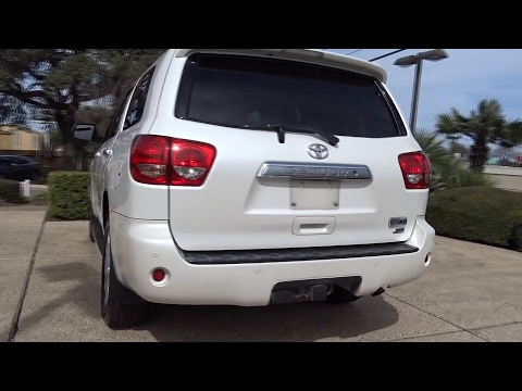 2012 toyota sequoia san antonio austin houston dallas new braunfels tx i17382a youtube. Black Bedroom Furniture Sets. Home Design Ideas
