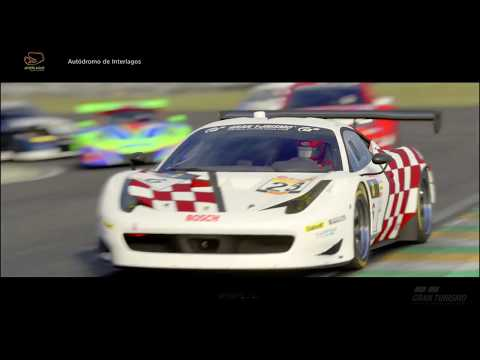 GT Sport - FIA Gr3 S4 Round 3 - Ferrari vs Porsche - Brazil