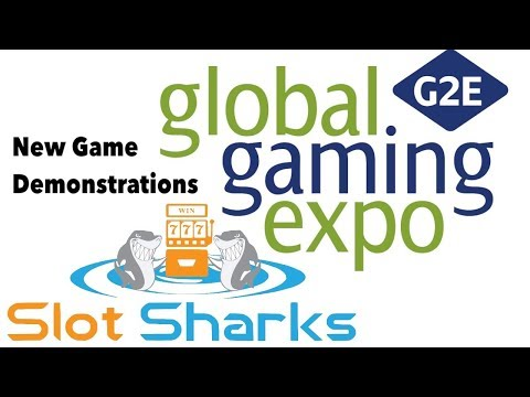 G2E Global Gaming Expo 2017 - New Game Demonstrations