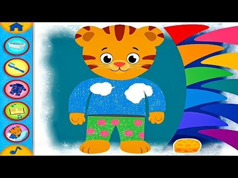 DANIEL TIGER's Day & Night App Full Gameplay - Daniel Tiger's Neighborhood Good Morning Good Night