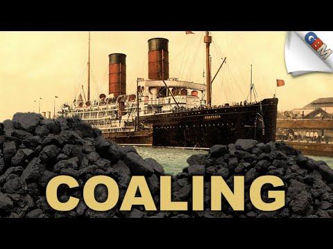 Coaling/Bunkering an Ocean Liner
