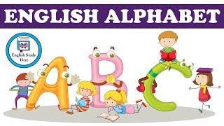 The English Alphabet | English Alphabet Pronunciation | ABC Alphabet for Kids
