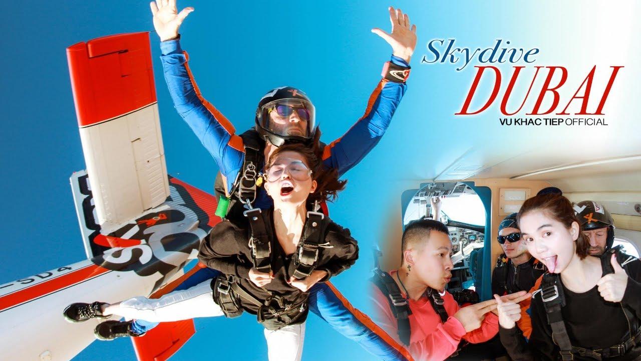 [ Tập 23 ] – Thót tim trước màn nhảy dù tại Dubai của Ngọc Trinh – Khắc Tiệp | SkyDive in Dubai 2020