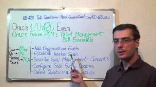1Z0-420 – Oracle Exam Fusion HCM Test Talent Questions
